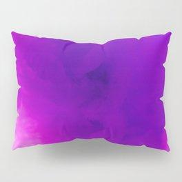Textures (Purple version) Pillow Sham