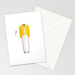 British Singer, Songwriter and Record Producer Minimal Sticker Stationery Cards