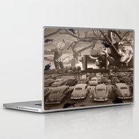 nightmare Laptop & iPad Skins featuring Nightmare by Kiki collagist