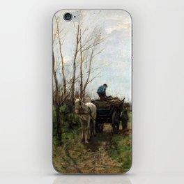 William Morris Hunt Girl at the Fountain iPhone Skin