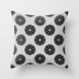 Lace pattern Throw Pillow