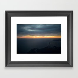 Cape Cod Aerial Framed Art Print