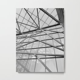 Modern Abstract Architecture Metal Print