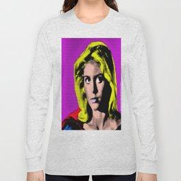 Retro Super Pop Art Long Sleeve T-shirt