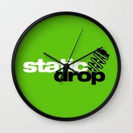 Static drop v7 HQvector Wall Clock