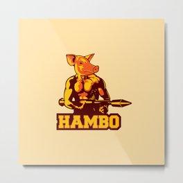 Hambo Metal Print