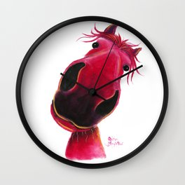 Have a Blooming Great Day !! Wall Clock