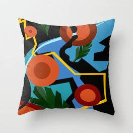 Tropical Rhythms  Throw Pillow