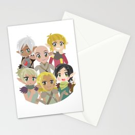 Dragon Age Elves Stationery Cards
