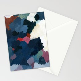 Abstract meditation forest 1 Stationery Cards