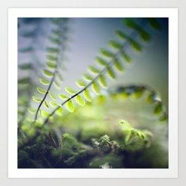 little green Art Print