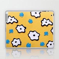 Dutch Flowers on Yellow Laptop & iPad Skin