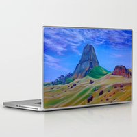 mountain Laptop & iPad Skins featuring Mountain by ArtSchool