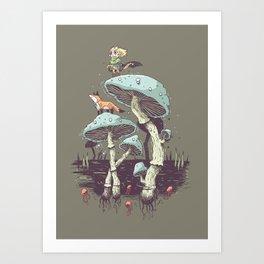 Elven Ranger Art Print