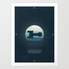 Faster Than Light - The Osprey Art Print