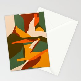 A New Way Of Seeing Abstract Landscape Stationery Cards