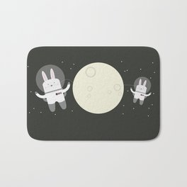 Astro Bunnies Bath Mat