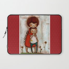 No Matter What - by Diane Duda Laptop Sleeve