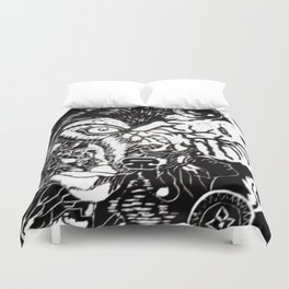 Narratives Duvet Cover