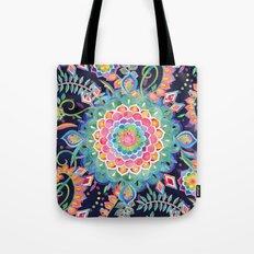 Color Celebration Mandala Tote Bag