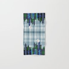 Plaid City Twilight Hand & Bath Towel