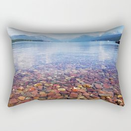 Lake McDonald Rectangular Pillow