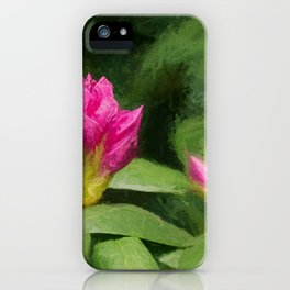Rhododendron II iPhone Case