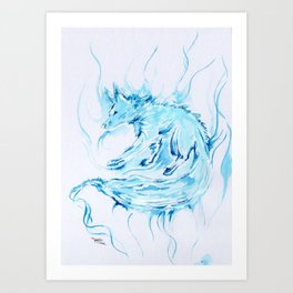 Patronus - Fox Art Print