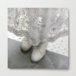Nao's Shoes Metal Print