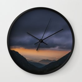 Sunset is my favorite color Wall Clock