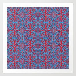 Incubator_pattern Art Print