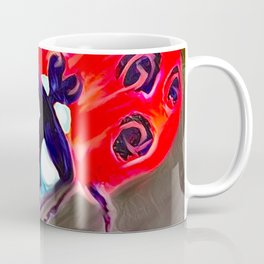 Ladybug&flower Coffee Mug