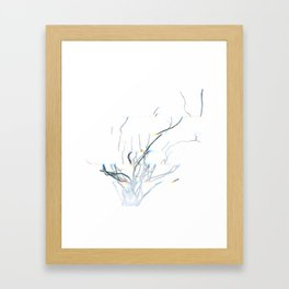 Roots of time Framed Art Print