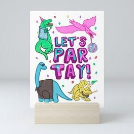 Dino Party Mini Art Print