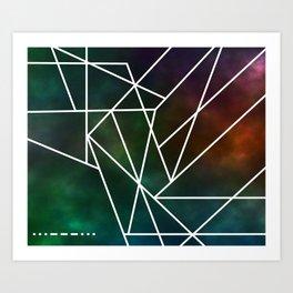 Intergalactic SOS Art Print
