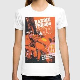 Vintage 1970s Australian Race Poster T-shirt