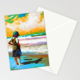 Surf Shaddows Stationery Cards
