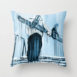'Stair Hike' Throw Pillow
