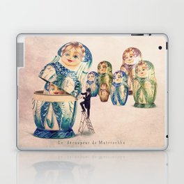 The Matryoshka opener Laptop & iPad Skin