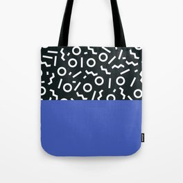 Memphis pattern 49 Tote Bag