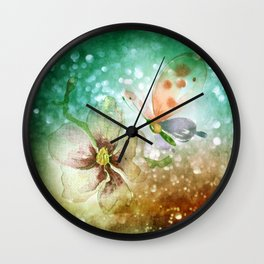 being hungry Wall Clock