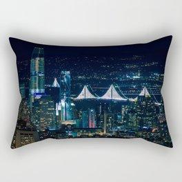San Francisco lights Rectangular Pillow