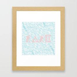 Rare Framed Art Print