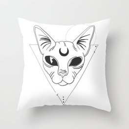 Oracle Sphynx* Throw Pillow