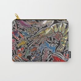 Prawns, gambas and shrimps for ocean lovers, marine biologists and scuba divers Carry-All Pouch
