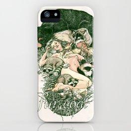 Fur Coat iPhone Case