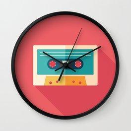 Audio Cassette Wall Clock