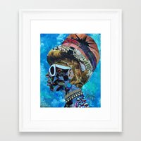 birthday Framed Art Prints featuring Birthday by Katy Hirschfeld