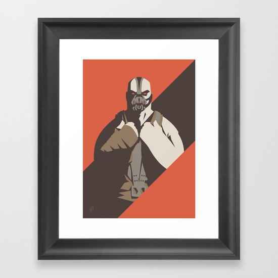 Bane Framed Art Print