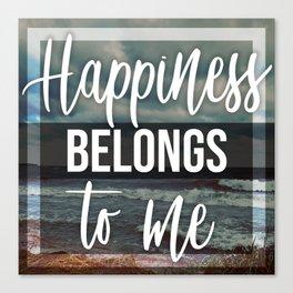 Happiness2 Canvas Print